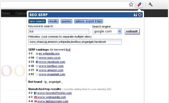 Chrome Web Store - SEO SERP