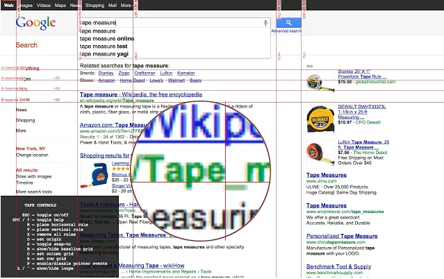 Chrome Web Store - Tape