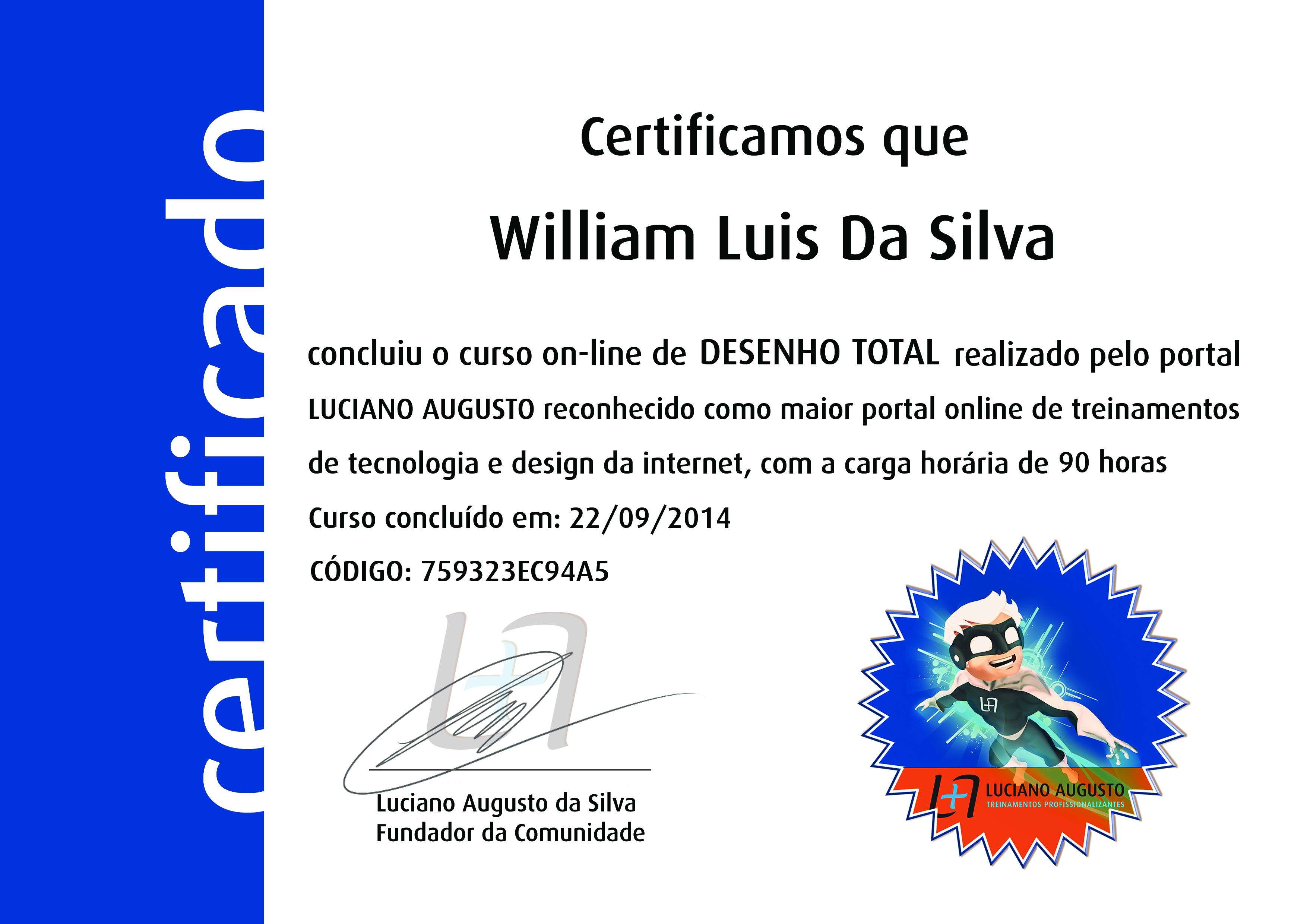 William Luis - Desenho