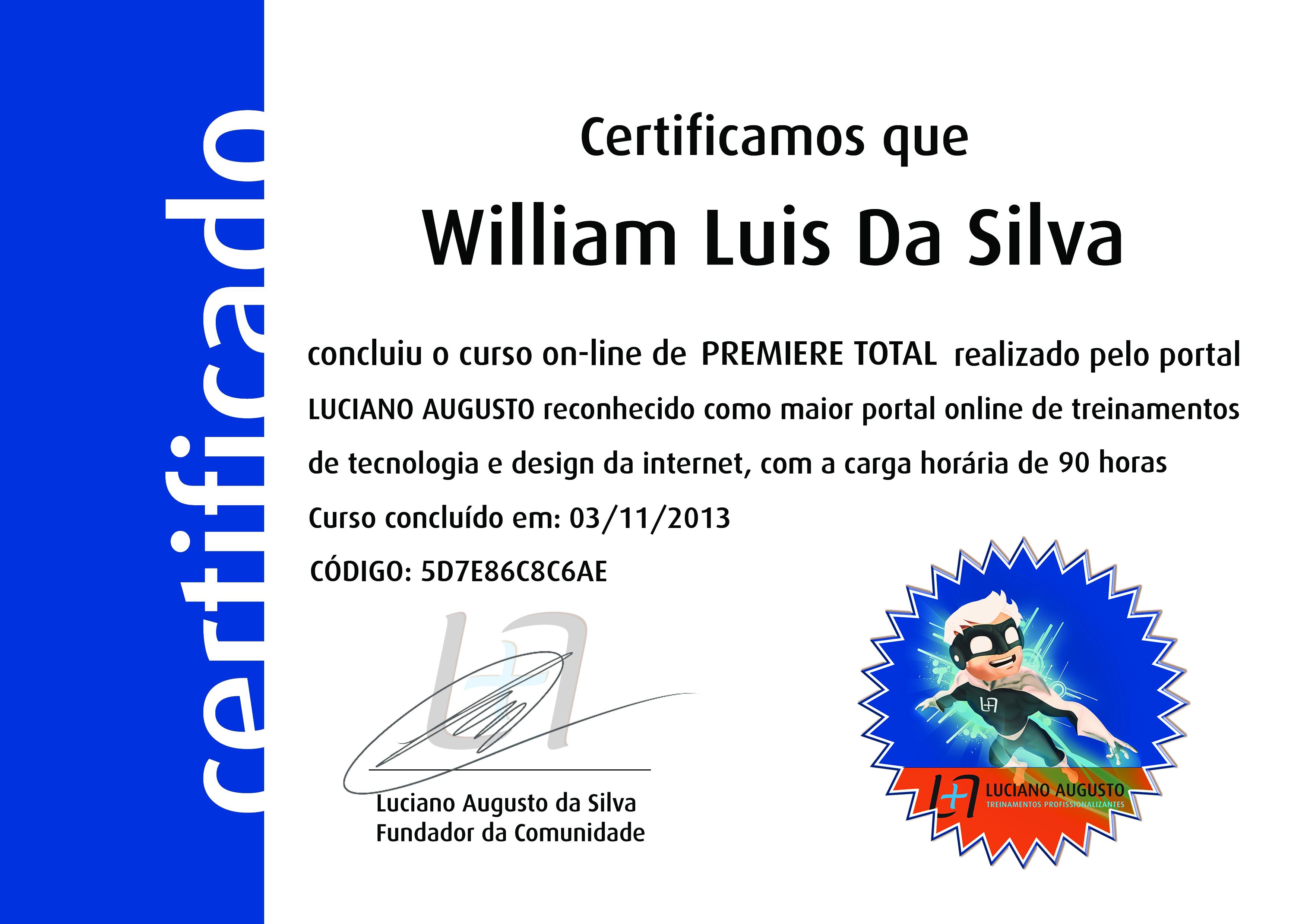 William Luis - Premiere