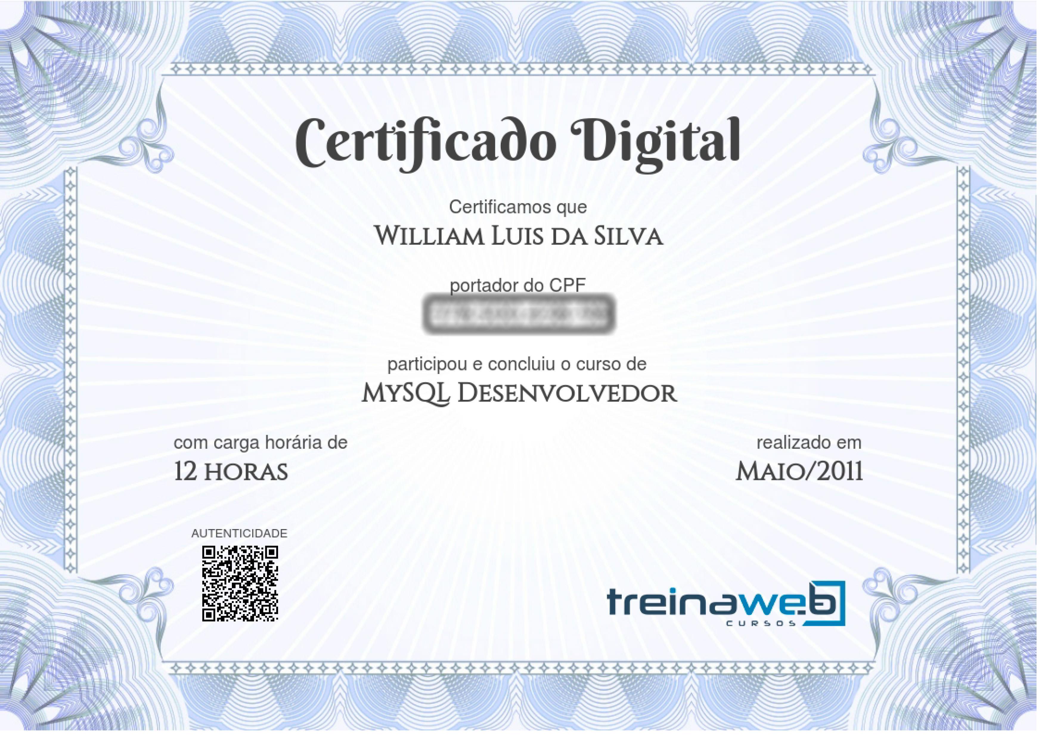 MySQL-Desenvolvedor
